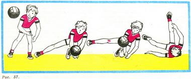 как научится ловить мяч в волейболе